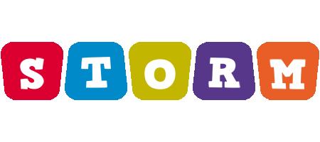 Storm daycare logo