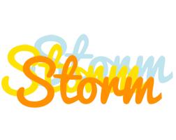 Storm energy logo