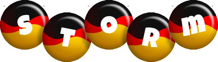 Storm german logo