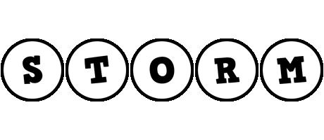 Storm handy logo