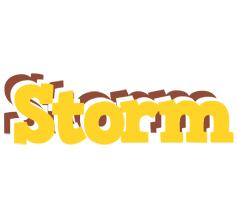 Storm hotcup logo