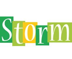 Storm lemonade logo