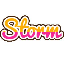 Storm smoothie logo