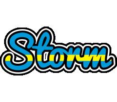Storm sweden logo