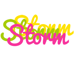 Storm sweets logo