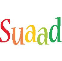 Suaad birthday logo