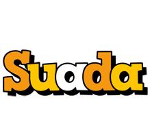 Suada cartoon logo