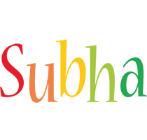 Subha birthday logo