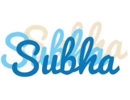 Subha breeze logo