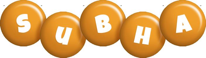 Subha candy-orange logo
