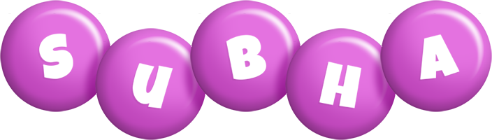 Subha candy-purple logo