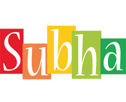Subha colors logo