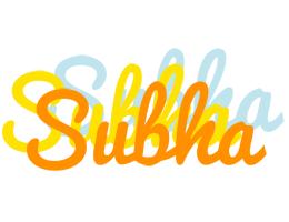 Subha energy logo