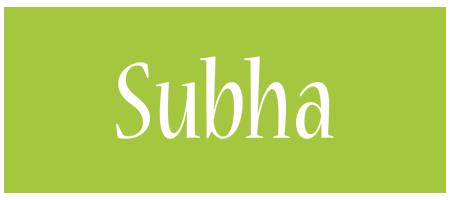 Subha family logo