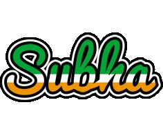 Subha ireland logo
