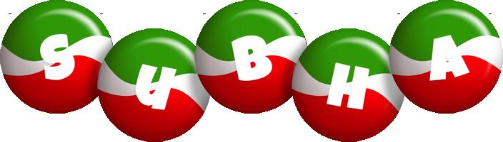 Subha italy logo