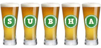 Subha lager logo
