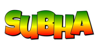 Subha mango logo