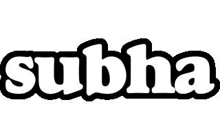 Subha panda logo