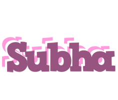 Subha relaxing logo