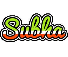Subha superfun logo