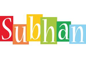 Subhan colors logo