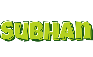 Subhan summer logo