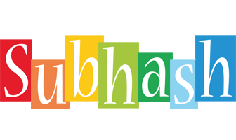 Subhash colors logo