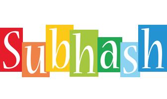 Subhash colors logo