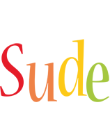 Sude birthday logo