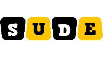 Sude boots logo