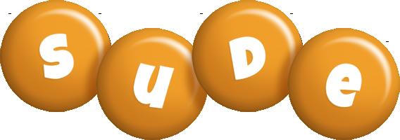 Sude candy-orange logo