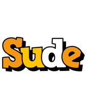 Sude cartoon logo