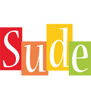 Sude colors logo