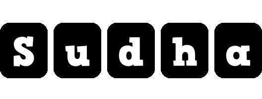 Sudha box logo