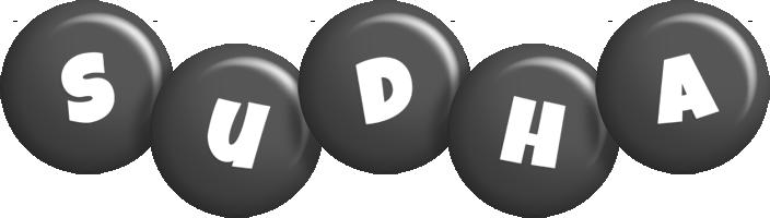 Sudha candy-black logo