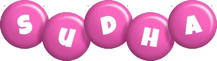 Sudha candy-pink logo