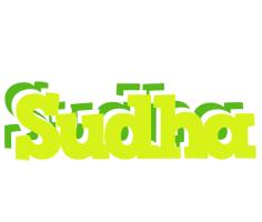 Sudha citrus logo