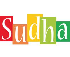 Sudha colors logo