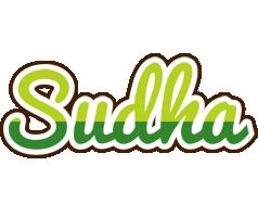 Sudha golfing logo