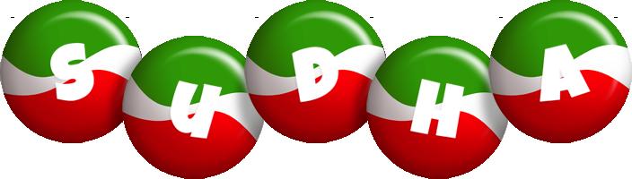 Sudha italy logo