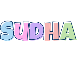Sudha pastel logo