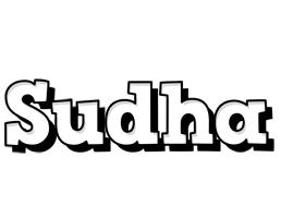 Sudha snowing logo