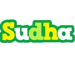 Sudha soccer logo