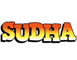 Sudha sunset logo