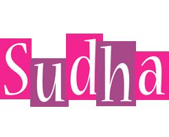 Sudha whine logo