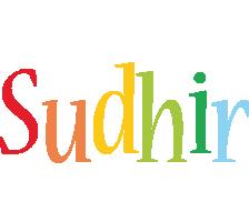 Sudhir birthday logo