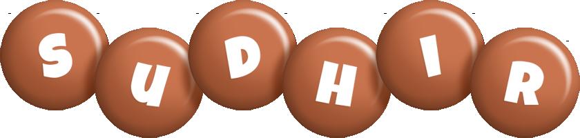 Sudhir candy-brown logo