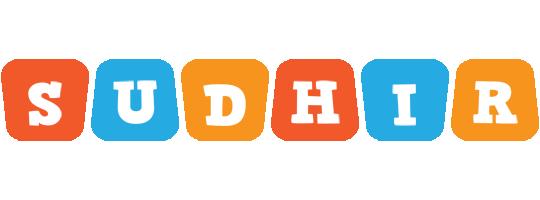 Sudhir comics logo