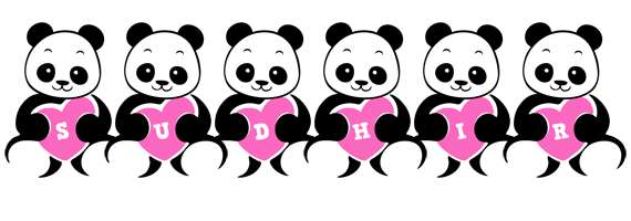 Sudhir love-panda logo